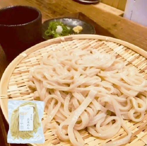 玄米麺うどん (2)